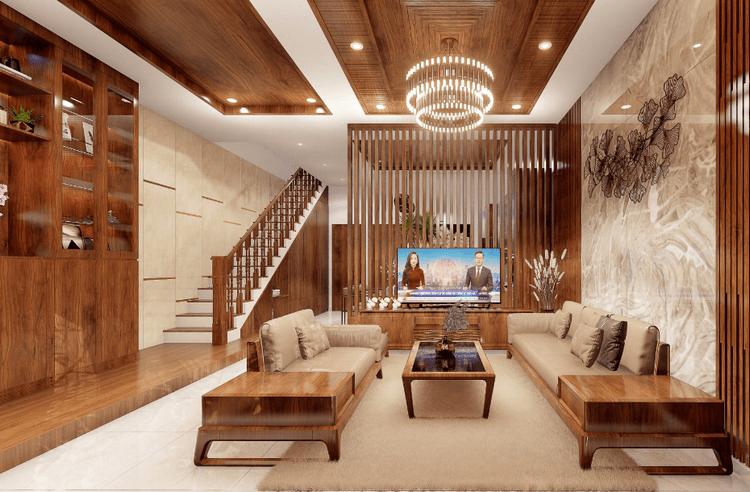 50+ Mẫu thiết kế nội thất phòng khách đẹp, ấn tượng – xu hướng mới nhất