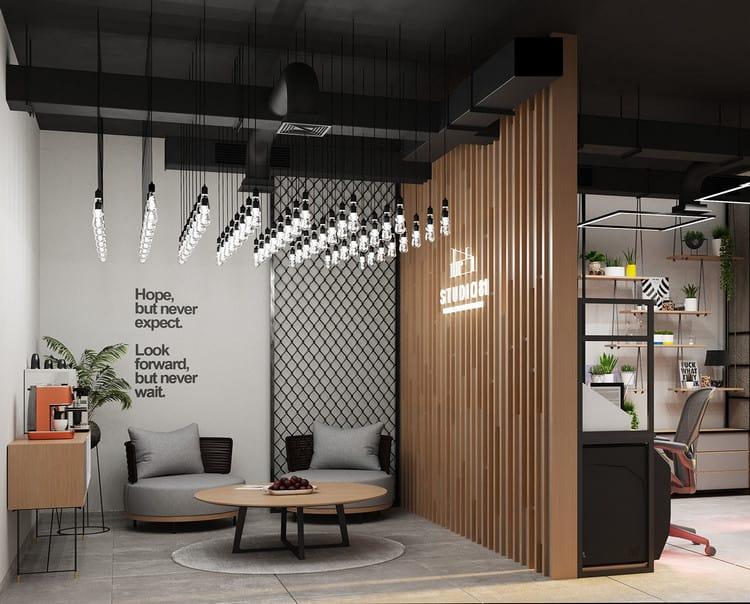 mẫu thiết kế văn phòng nhỏ 30m2