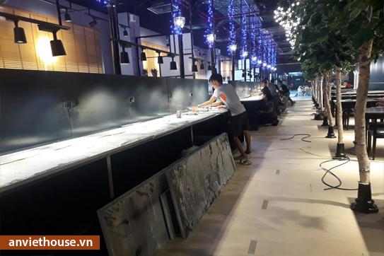 Sản xuất nội thất nhà hàng