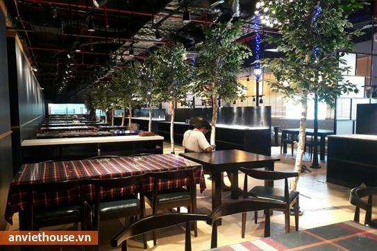 Thi công hoàn thiện nội thất nhà hàng theo yêu cầu, đảm bảo tiến độ thi công, chất lượng, uy tín, giá cạnh tranh