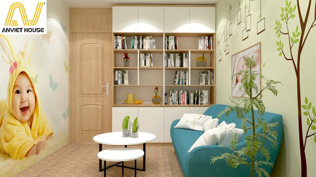 thiết kế thi công phòng thư giãn