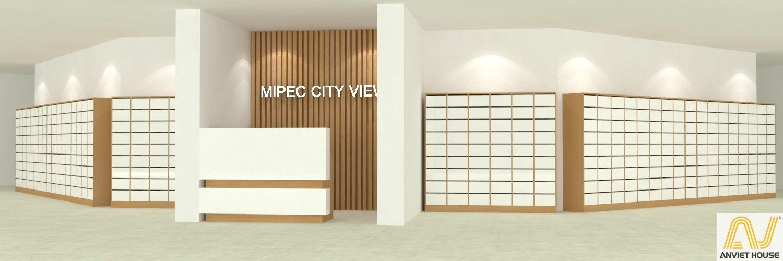 Thiết kế sảnh chung cư Mipec