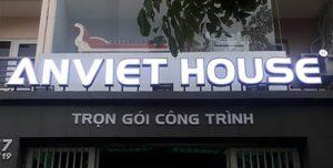 An Viet House - thiết kế thi công trọn gói công trình