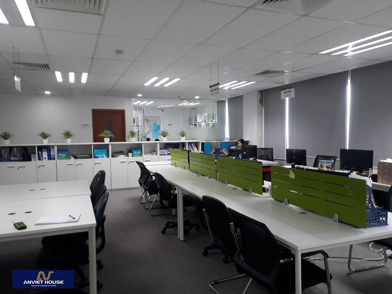 Thiết kế văn phòng hiện đại, chuyên nghiệp