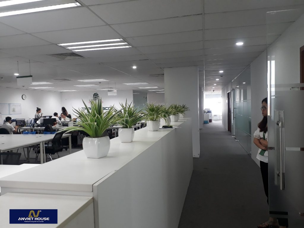 Xưởng mộc sản xuất nội thất văn phòng theo yêu cầu