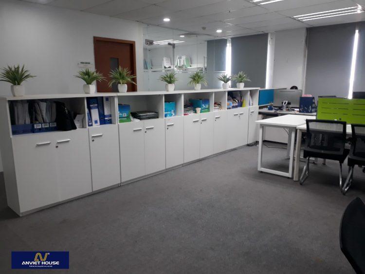 thi công văn phòng hiện đại - Tòa nhà CMC Duy Tân, Hà Nội