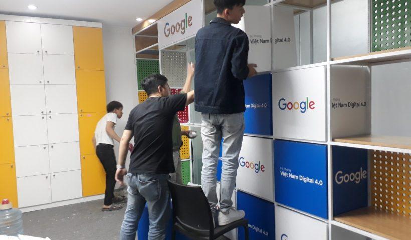 Thi công văn phòng google