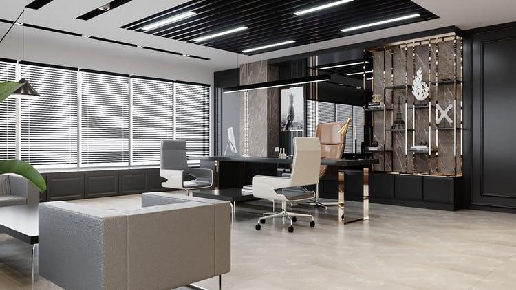 văn phòng làm việc giám đốc hiện đại