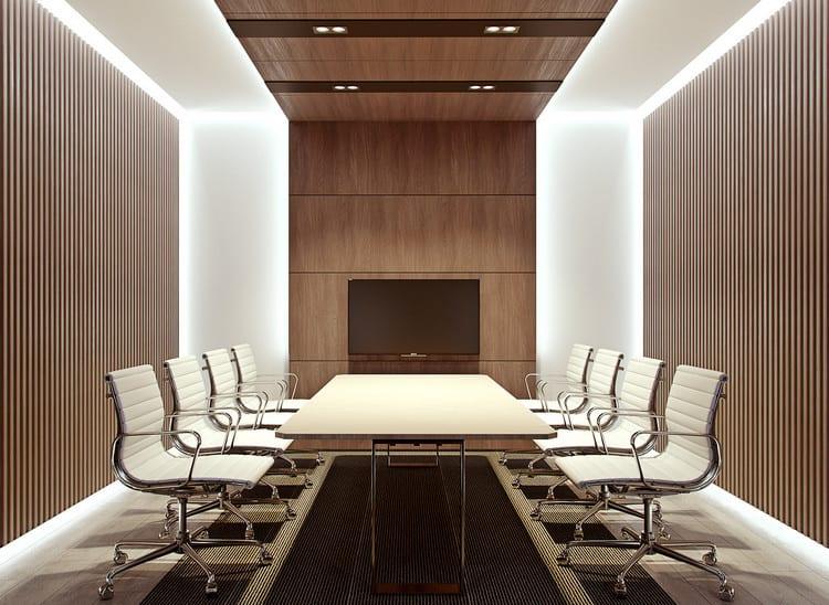 Bố trí nội thất phòng họp
