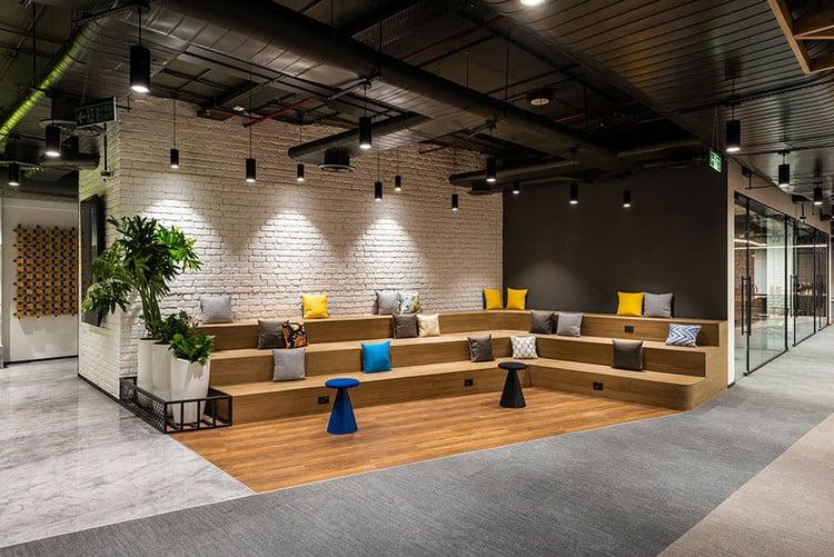 Không gian phòng họp mở