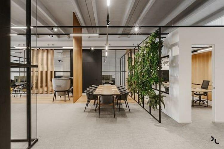 Mảng xanh cho phòng họp