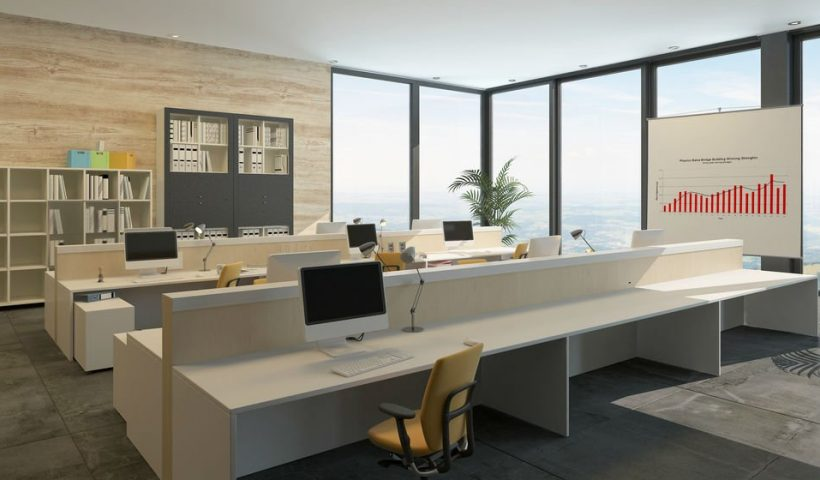 Thiết kế văn phòng công ty nhỏ
