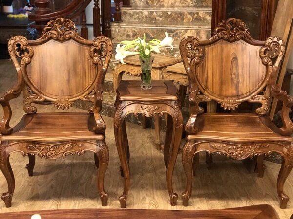 cách nhận biết gỗ gõ đỏ , 2 loại gỗ gõ đỏ thông dụng trong nội thất