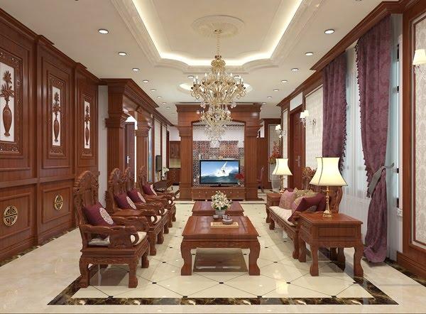 nội thất gỗ hương