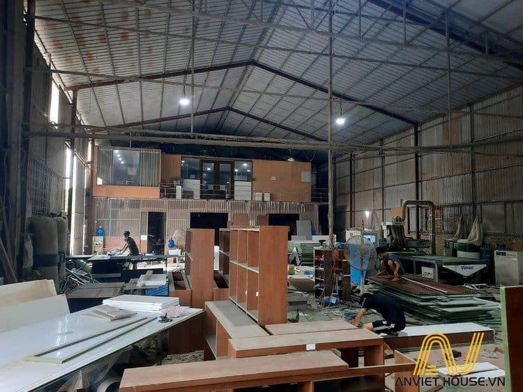Xưởng sản xuất nội thất Anviethouse