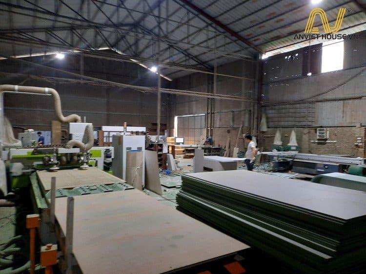Xưởng gỗ công nghiệp Anviethouse