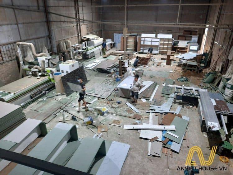 Xưởng sản xuất nội thất tân cổ điển Anviethouse
