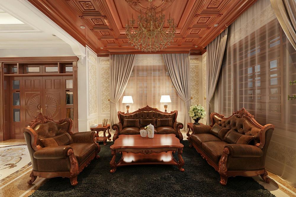 Thiết kế nội thất gỗ tự nhiên tính thẩm mỹ cao