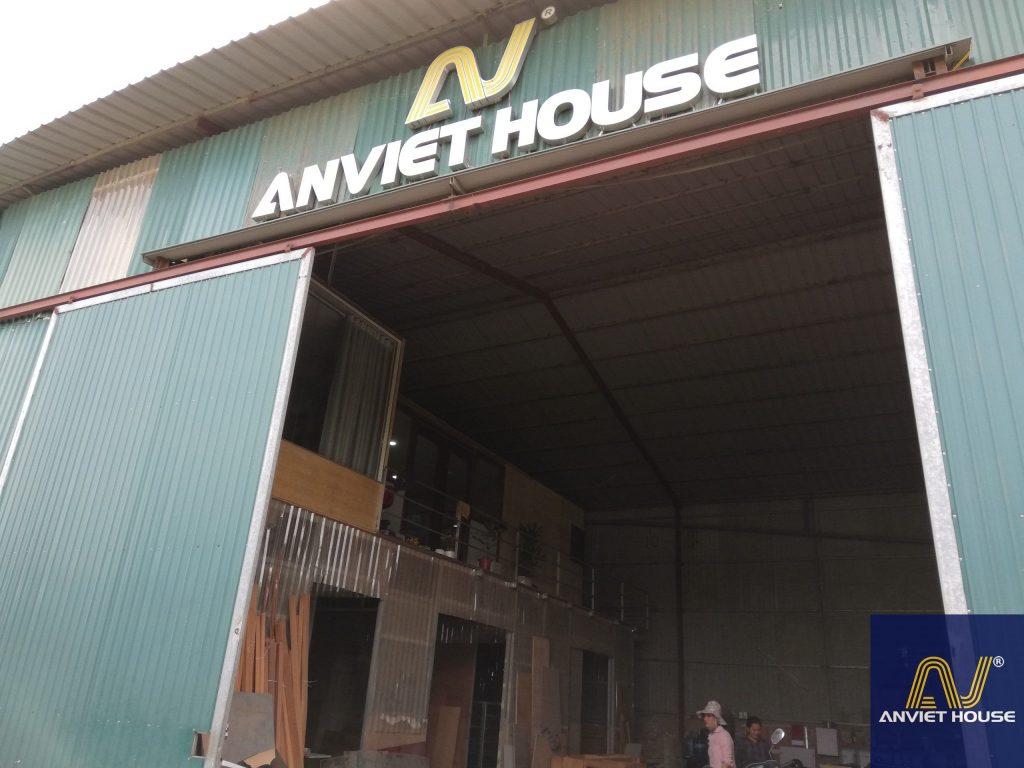 Xưởng sản xuất nội thất gỗ óc chó Anviethouse