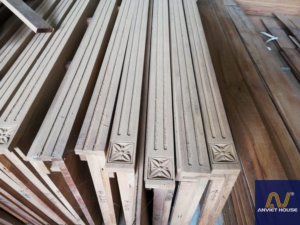 xưởng gỗ tự nhiên