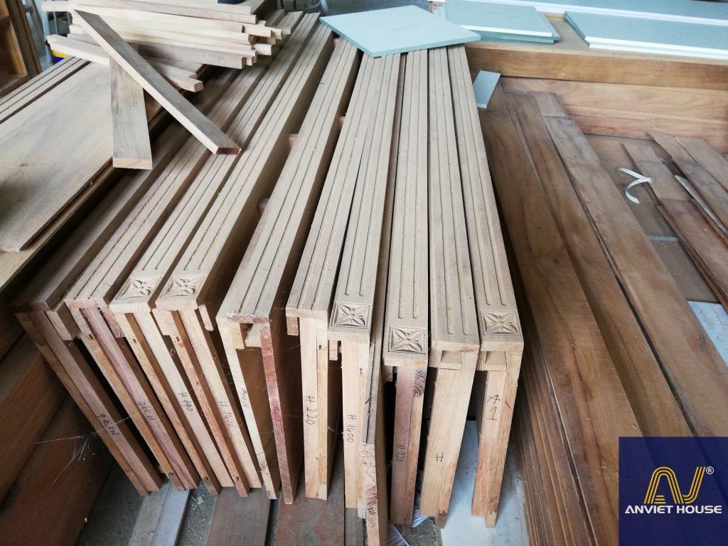 xưởng sản xuất gỗ tự nhiên