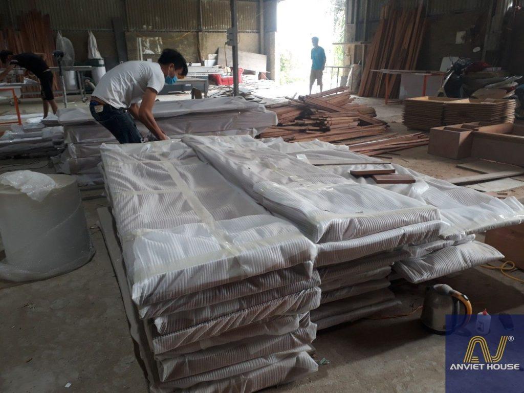 quy trình sản xuất đồ gỗ nội thất tại Anviethouse
