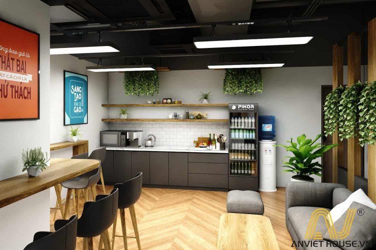 an viet house thiết kế quầy bar văn phòng