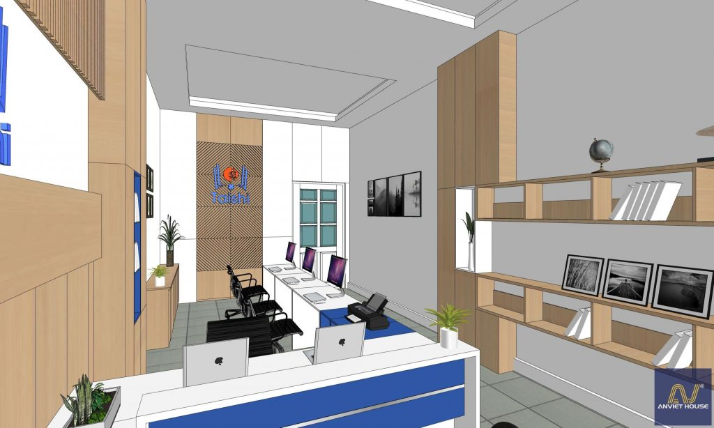 thiết kế trung tâm tuyển sinh