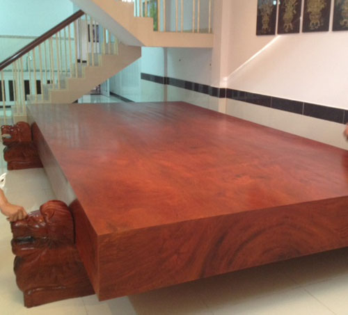Sập gỗ sưa đỏ