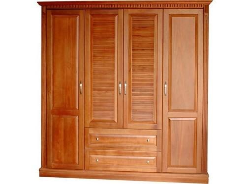tủ quần áo gỗ chò chỉ