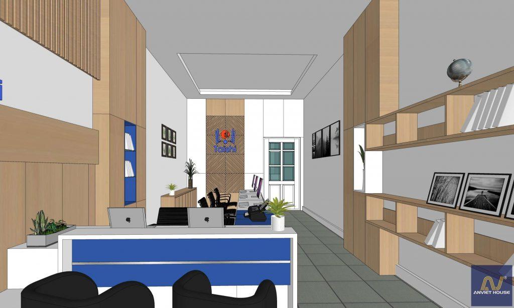 thiết kế nội thất trung tâm tuyển sinh