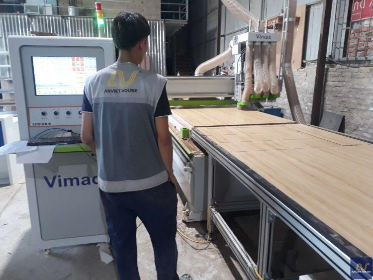 xưởng gỗ công ty nội thất an việt