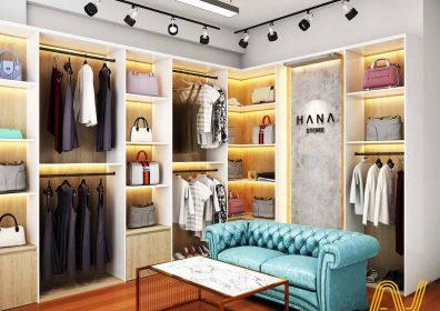 thiết kế phòng livestream bán quần áo