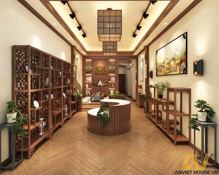 an viet house thiết kế cửa hàng trầm hương