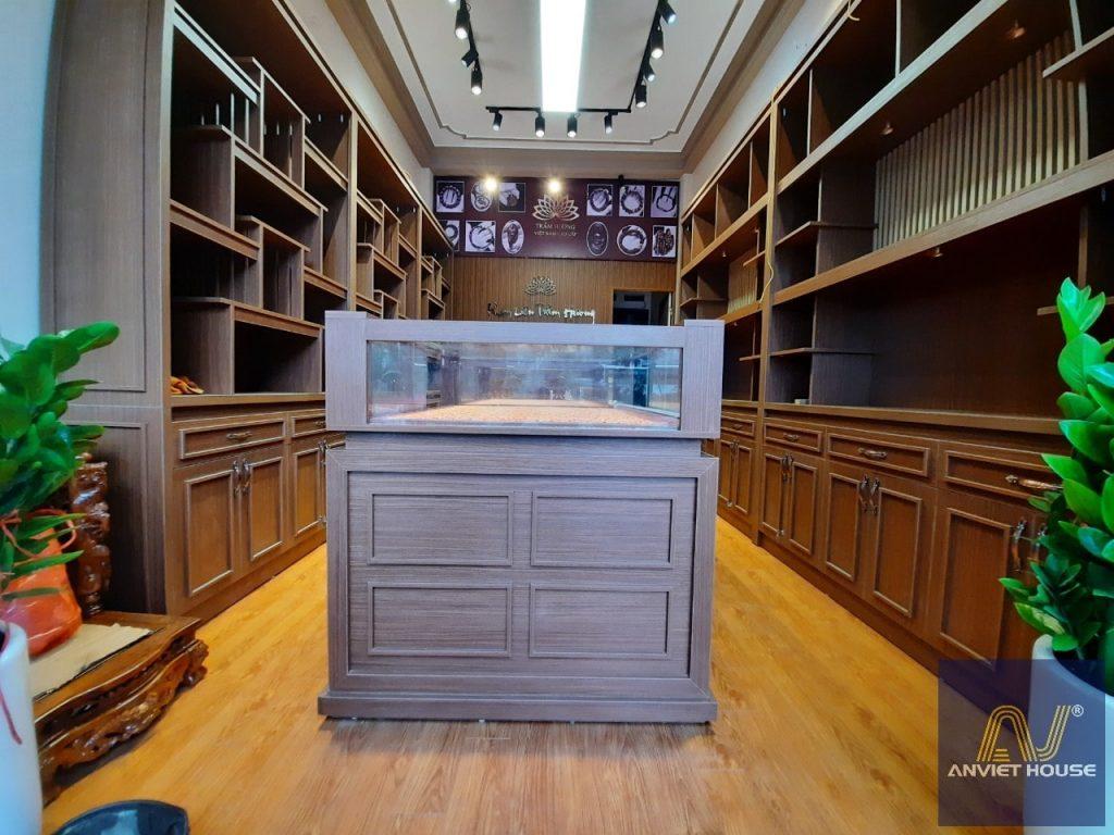 An viet house - thi công nội thất cửa hàng