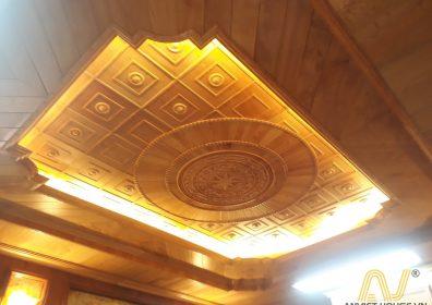 trần gỗ pơ mu