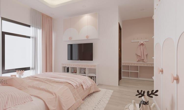 thiết kế phòng ngủ 20m2 đẹp