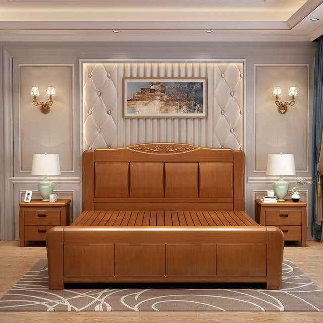 Nội thất phòng ngủ gỗ xoan đào