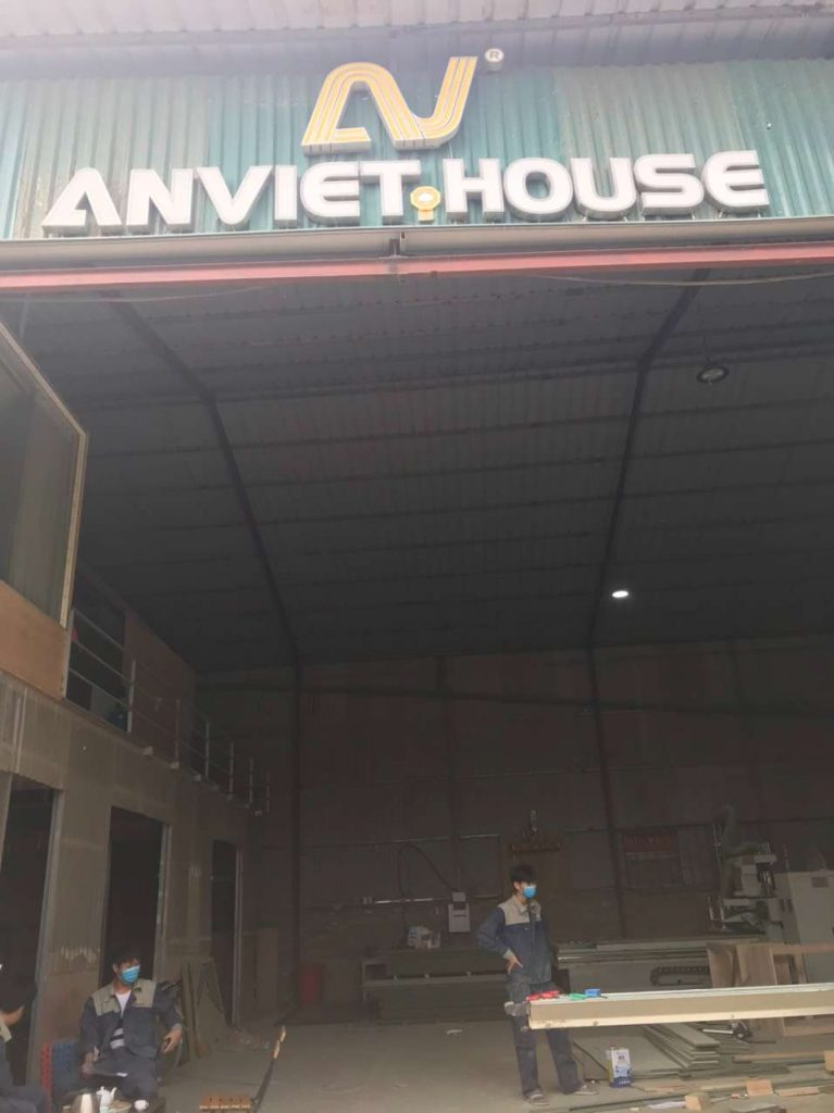 Xưởng sản xuất nội thất An Viet House