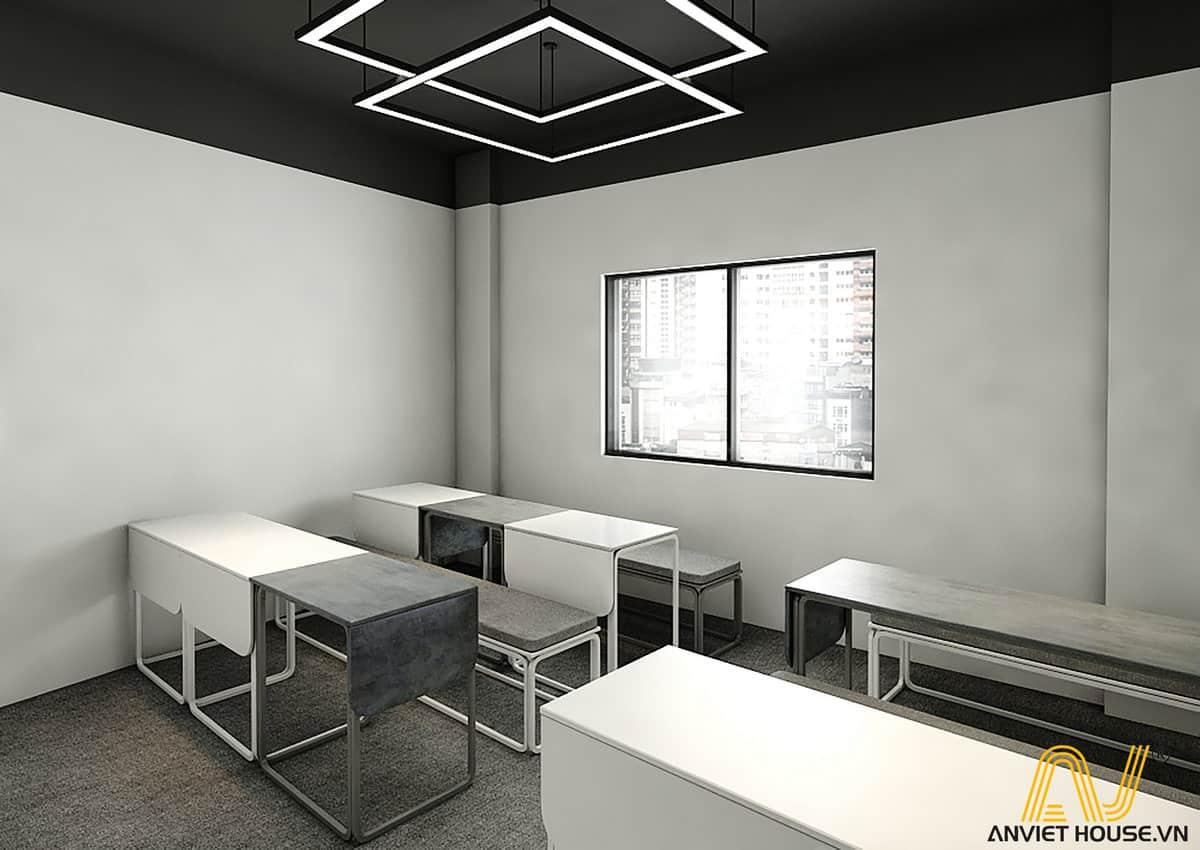 Thiết kế nội thất phòng học ECT