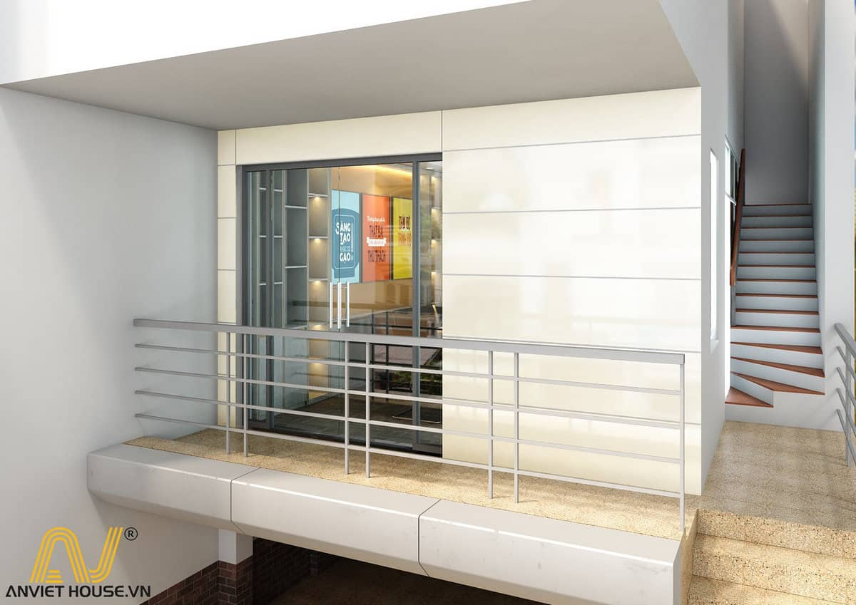 Mẫu thiết kế văn phòng công ty Golden