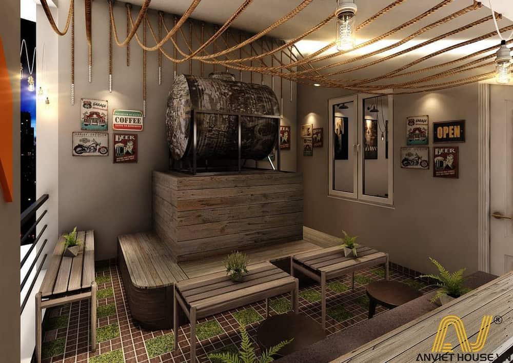 Thiết kế văn phòng Golden - tầng 4 - Relax