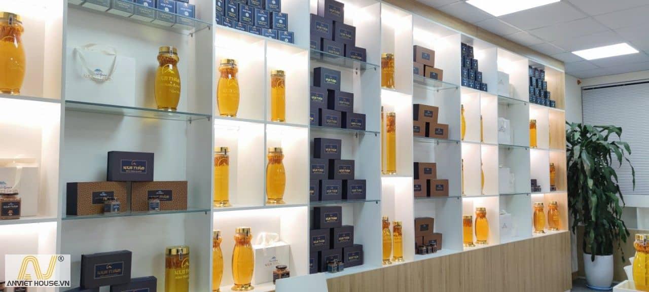 anviethouse thi công nội thất showroom trưng bày sản phẩm