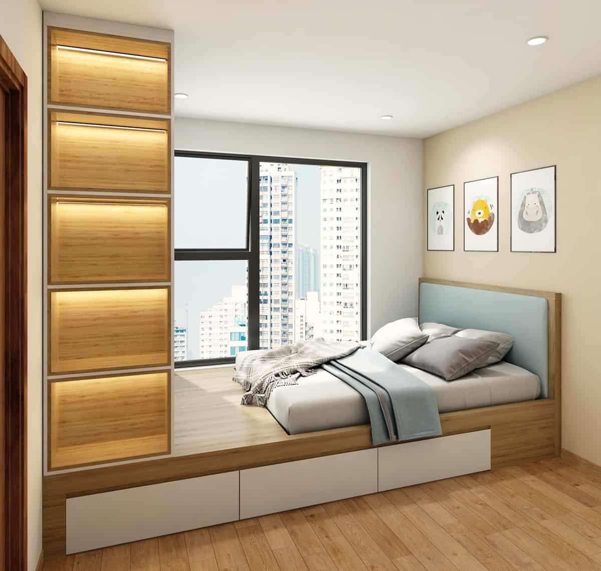 Thiết kế nội thất phòng ngủ số 2