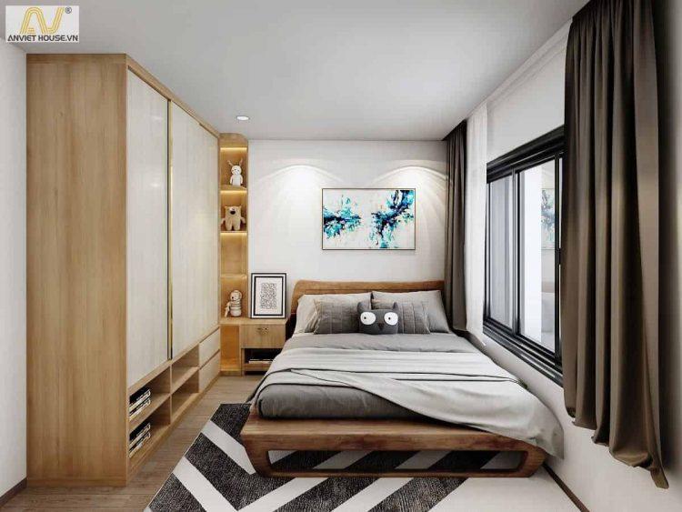 Không gian hiện đại, tinh tế cho phòng ngủ nhỏ