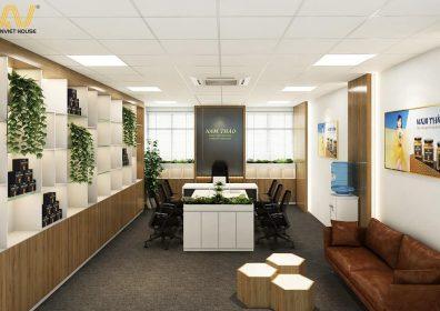 thiết kế thi công nội thất showroom