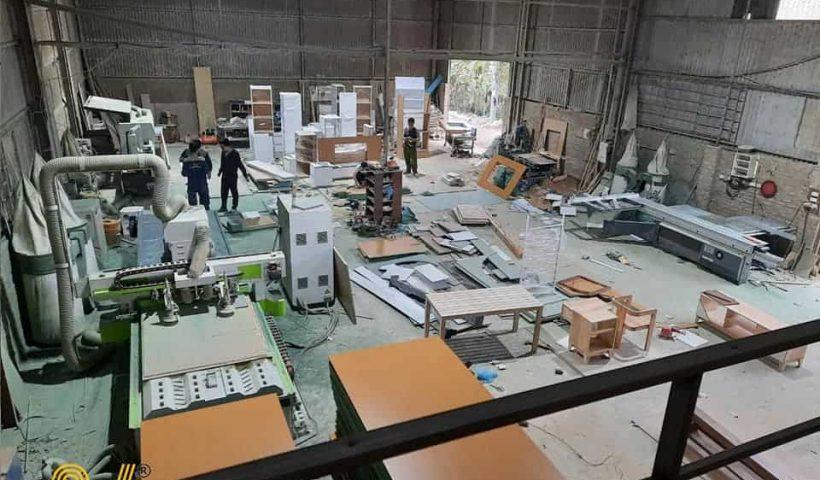 xưởng sản xuất nội thất gỗ công nghiệp an viet house