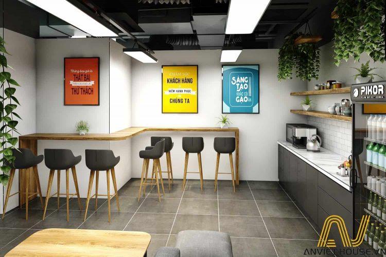 an viet house thiết kế khu thư giãn văn phòng
