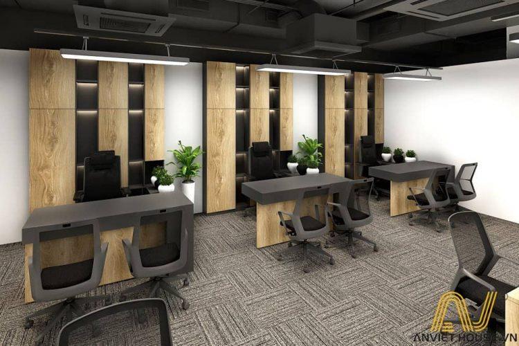 an viet house thiết kế văn phòng làm việc