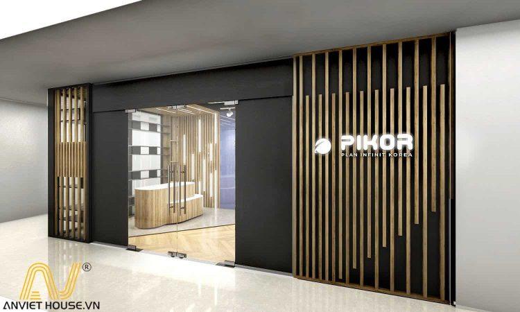 an viet house thiết kế nội thất văn phòng pikor